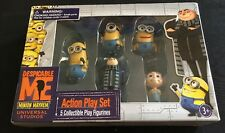 Despicable Me Action Play Set Toy Figures Gru Agnes PVC Minion Mayhem 5 pcs