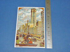 CHROMO 1900-1915 GRANDE IMAGE BON-POINT USA NEW-YORK BROADWAY