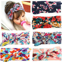 Baby Girl Boho Newborn Toddler Headband Ribbon Elastic Baby Headdress Hair Band