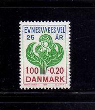DINAMARCA/DENMARK 1977 MNH SC.B56 For Mentally Handicapped