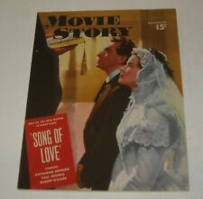 FAWCETT November 1947 MOVIE STORY MAGAZINE KATHARINE HEPBURN PAUL HENREID COVER