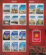 Azerbaijan Aserbaidschan MNH** 2012 Mi.920-939 Bl.110-114 Eurovision