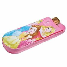 DISNEY PRINCESS JUNIOR READY BED ALL IN ONE SLEEPOVER SOLUTION NEW FREE P+P