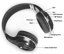 New Wireless Stereo Bluetooth 4.1 Headphones for all Cell Phone Laptop PC Tablet