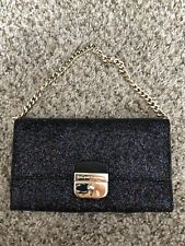 KATE SPADE GLITTER WALLET ON CHAIN WOC SHOULDER BAG CLUTCH SUNSET LANE MILOU