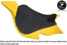 YELLOW & BLACK VINYL CUSTOM FITS BENELLI 1130 TNT 04-15 FRONT SEAT COVER