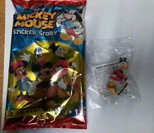 MICKEY MOUSE STICKER STORY DISNEY ZIO PAPERONE no doppioni!!! SIGILLATI!!!