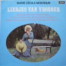 MARIE CECILE MOERDIJK - LIEDJES VAN VROEGER  -  LP