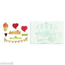 Sizzix Framelits Die Set w/Textured Impressions - SWEET SHOPPE 658477 REDUCED