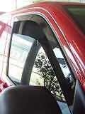 Dubflecta SLEEK wind deflectors for VW Transporter T5 2004 - 2015 Volkswagen
