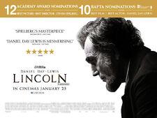Lincoln con Daniel Día - Lewis Original Película Cartel de Quad 76x102cm