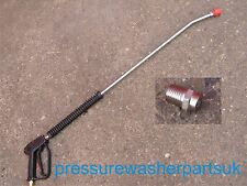 Rondelle de pression Jet laveuse vapeur nettoyeur Pistolet Lance & suceur
