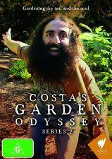 Costa's Garden Odyssey : Series 2 (DVD, 2010, 2-Disc Set)-REGION 4-Free postage