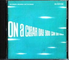 On A Clear Day You Can See Forever-Broadway Cast CD (1965 Barbara Harris) RARE