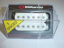 DIMARZIO DP161 Steve's Special Humbucker Guitar Pickup - WHITE - F SPACING