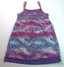 Leopard Print Dress 24 Months Baby Toddler Girl Sleeveless Purple Pink Healthtex