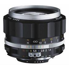 2016 Voigtlander NOKTON 58mm F1.4 SL II S for Nikon F silver rim Japan new .