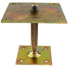 I Pfostenträger gelb verzinkt aufdübelbar höhenverstellbar >=150 mm GAH 1 Stück