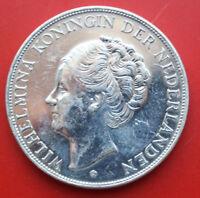 Netherlands-Niederlande: 2 1/2 Gulden 1938 Silber, KM# 165,VZ-XF,#F2388