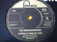 "THE MINDBENDERS - A GROOVY KIND OF LOVE   7"" VINYL"