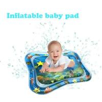 Inflatable Water Play Mat Toddler Fun Tummy Time Kids Baby Play Activity Center