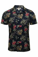 Mens Xact Floral Hawaiian Shirt - Short Sleeved