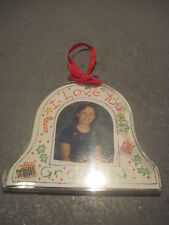 PAPPEL FREE LANCE CHRISTMAS  BELL  PICTURE FRAME ORNAMENT