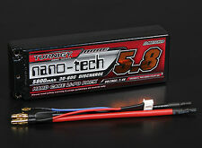 Turnigy nano-tech 5800mAh 2S 7.4 30C 60C Battery Lipo Pack Hardcase ROAR Traxxas