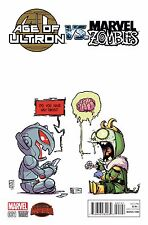 AGE OF ULTRON VS MARVEL ZOMBIES #1 Variant Skottie Young Cover NM Marvel