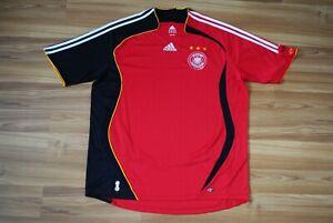 SIZE XL GERMANY NATIONAL TEAM 2006/2007/2008 AWAY FOOTBALL SHIRT JERSEY TRIKOT