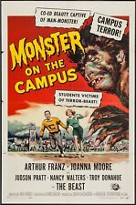 MONSTER ON THE CAMPUS [1958] Original 1-Sheet Poster
