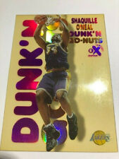 New listing 1998-99 skybox E-X century Shaquille o'neal Dunk'n Go Nuts SP Lakers 9/20 Rare