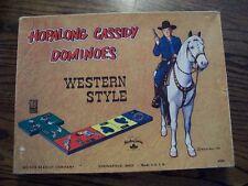 Hopalong Cassidy Dominoes 1950
