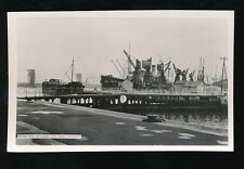 Wales Mon Monmouthshire NEWPORT  Docks New Entrance c1950/60s? RP PPC