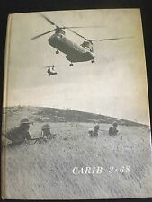 USMC 2nd BATTALION 6th MARINES Cruise Book CARIB 3-68 BLT 2-6 Squadron HMM 261