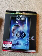 Star Wars The Phantom Menace 4K /Blu-Ray / Digital New