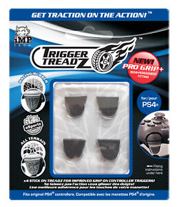 PS4 Trigger Treadz Trigger Grips for Dual Shock PlayStation 4 Controller