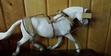 Breyer draft horse leather  custom cm harness ONLY