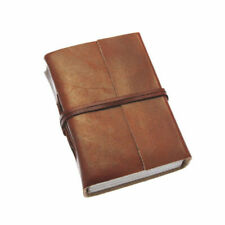 Paper High Leather Journal Notebook Mini Plain 80 X 105mm