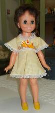 "Sweet yellow check dress for 16"" Crissy Family Dolls, Velvet, Mia, Dina, Cricket"