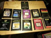 Atari 2600 game lot. 11 games!!     -b-