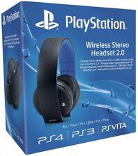 GUT - Sony PlayStation 4 Wireless Stereo Headset 2.0 - Schwarz - für PS4/PS3/PC