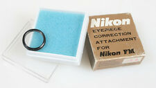 NIKON FM EYE PIECE CORRECTION ATTACHMENT FOR NIKON FM -4.0 IN ORIG. BOX