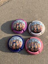 """4 Champagne  capsules Ph. Rouyer """" Giro Italië 2021 - Retro Style"""""""