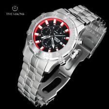 Invicta Men's 50mm Pro Diver XL Black Pebbled Dial SS Bracelet Watch - 13104