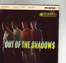 THE SHADOWS OUT OF  THE SHADOWS RARE 1962 ORIGINAL EP