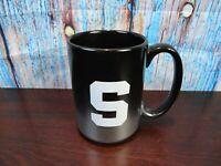 Syracuse University Orangemen Ceramic Coffee Mug Licensed Product NCAA Metalic