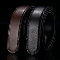 Fashion Mens Automatic Real Leather Waist Strap Belts  Without Buckle