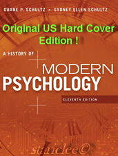 NEW 3 Days 2 US A History of Modern Psychology 11E Duane P. Schultz 11th Edition