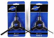 Park Tool AWS-1 + AWS-3 Bicycle 3-Way Y Hex Wrenches Wrench Set 2 2.5 3 4 5 6mm